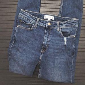 Mango Jeans Skinny High Waisted Soho